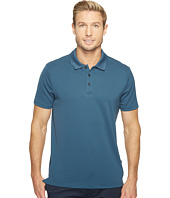 Perry Ellis - Solid Ottoman Three-Button Polo Shirt