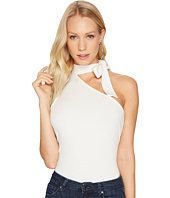 1.STATE - One Shoulder Tie Neck Top