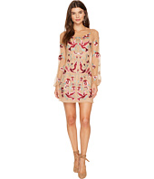 For Love and Lemons - Dove Embroidery Mini Dress