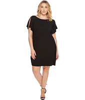 B Collection by Bobeau Curvy - Plus Size Rafferty Dolman Knit Dress