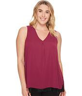 B Collection by Bobeau Curvy - Plus Size Grace Layer Tank Top