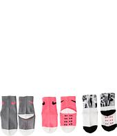 Nike Kids - 3-Pair Pack Daytrip Cuff Grippies (Infant/Toddler)