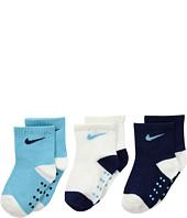 Nike Kids - 3-Pair Pack Swoosh Socks (Infant/Toddler)