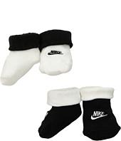Nike Kids - 2-Pair Pack Futura Booties (Infant)
