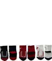 Nike Kids - 3-Pair Pack Futura Gripper Socks (Infant/Toddler)