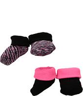 Nike Kids - 2-Pair Pack Marled Knit Booties (Infant)