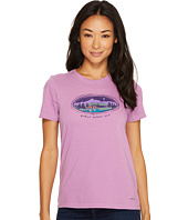 Life is Good - Girl's Night Out Camping Crusher Tee