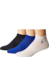 Polo Ralph Lauren - 3-Pack Polypropylene Technical Ped with Arch Support and Polo Player Embroidery