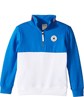Converse Kids - 1/4 Zip Stand Collar Pullover (Toddler/Little Kids)