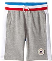 Converse Kids - Color Blocked Shorts (Toddler/Little Kids)
