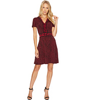 MICHAEL Michael Kors - Cheetah Cat Border Dress