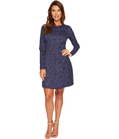 MICHAEL Michael Kors - Tweed Long Sleeve Flare Dress