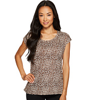 MICHAEL Michael Kors - Leopard Elliptical Top