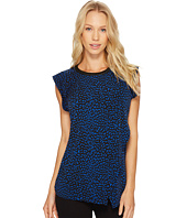 MICHAEL Michael Kors - Cheetah Flutter Sleeve Top