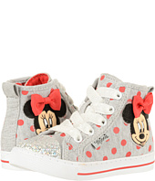 Josmo Kids - Minnie Polka Dot Jersey Hi Top (Toddler/Little Kid)