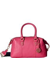 Tommy Hilfiger - Addy Pebble Leather Satchel