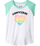 Converse Kids - I Heart Raglan Tee (Big Kids)