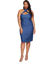 Unique Vintage - Plus Size Fitted Pencil Dress