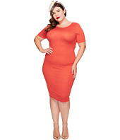 Unique Vintage - Plus Size Fitted Wiggle Dress