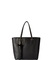 Dolce & Gabbana - Black Leather Glam Shopper