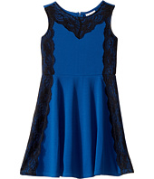 Us Angels - Sleeveless with Lace Fit and Flare Dress (Big Kids)
