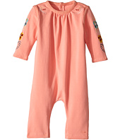 Chloe Kids - Soft with Embroideries Long Sleeve Bodysuit (Infant)