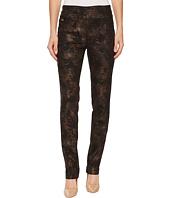 Lisette L Montreal - Copper Paisley Print Slim Pants