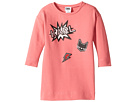 Long Sleeve Sweatdress with Printed Graphics (Toddler)