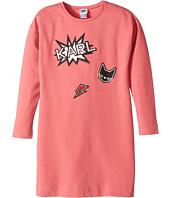 Karl Lagerfeld Kids - Long Sleeve Sweatdress with Printed Graphics (Big Kids)