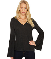 Lanston - Smocked Long Sleeve Top