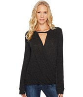 Lanston - Surplice Long Sleeve Top