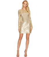 Rachel Zoe - All Over Sequin Long Sleeve Racko Dress