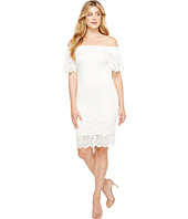Laundry by Shelli Segal - Off the Shoulder Lace Dress