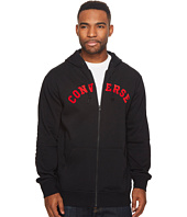 Converse - Quilted Panel Full Zip Hoodie