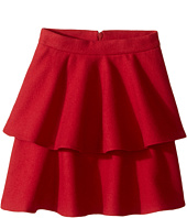 Oscar de la Renta Childrenswear - Wool Tiered Skirt (Toddler/Little Kids/Big Kids)