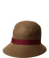 SCALA - Wool Felt Cloche w/ Ribbon