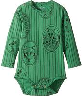 mini rodini - Fox Family Long Sleeve Bodysuit (Infant)