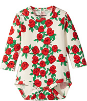 mini rodini - Rose Long Sleeve Bodysuit (Infant)