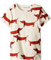 mini rodini - Dog Short Sleeve Tee (Infant/Toddler/Little Kids/Big Kids)