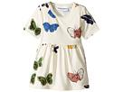 Butterflies Short Sleeve Dress (Infant/Toddler/Little Kids/Big Kids)