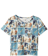 Paul Smith Junior - Short Sleeves Space Tee Shirt (Toddler/Little Kids)