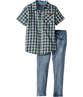 7 For All Mankind Kids - Two-Piece Woven Shirt and Jeans Set (Toddler)
