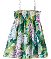 Dolce & Gabbana Kids - Taormina Ortensia Print Dress (Toddler/Little Kids)