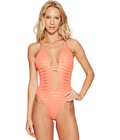 Luli Fama - Take Me to Paradise Plunge Cheeky One-Piece