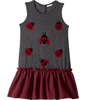 Dolce & Gabbana Kids - Back to School Lady Bug Dress (Big Kids)