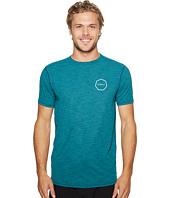 VISSLA - Alltime Short Sleeve Heathered Surf Tee UPF 50