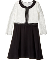 Us Angels - 3/4 Sleeve Peter Pan Collar Fit And Flare (Big Kids)