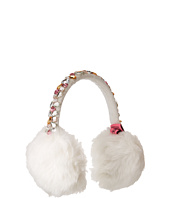 Betsey Johnson - Bejeweled Faux Fur Earmuffs