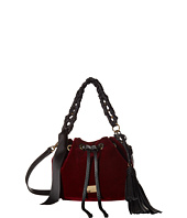Frances Valentine - Small Ann Velvet Bucket Bag