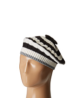 Kate Spade New York - Bold Stripe with Metallic Tipping Beret